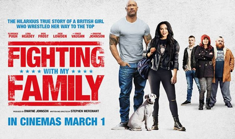 movie poster of Fighting with my Family